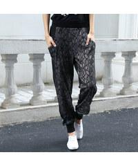 Lesara Sweatpants mit grafischem Muster - S