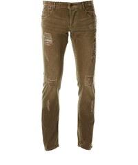 Le Temps des Cerises 711 - Jeans mit Slimcut - khaki