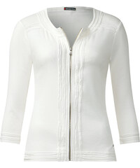 Street One - Veste zippée Feodora - blanc
