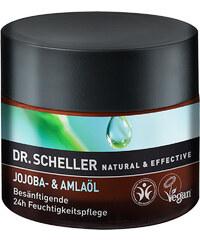 Dr. Scheller Jojoba + Amlaöl Besänftigende 24h-Feuchtigkeitspflege Gesichtscreme 50 ml