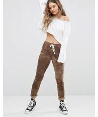 Glamorous - Pantalon de survêtement skinny effet tie-dye - Vert