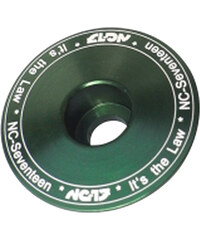 NC-17 Headsetkappe 11/8 Zoll grün