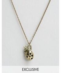Reclaimed Vintage - Anatomical Heart - Goldene Halskette - Gold