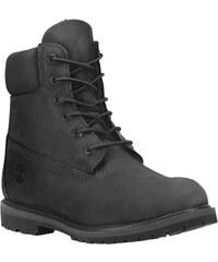 Timberland Damen Stiefel 6 Premium black Nubuk