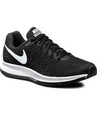 Boty NIKE - Nike Air Zoom Pegasus 33 831356 001 Black/White/Anthracite/Cl Grey