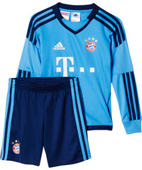 adidas Performance Kleinkinder Torwartoutfit FC Bayern Home Mini Kit Saison 2015/16