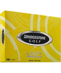 Bridgestone Damen Golfbälle Lady Precept 12er Packung gelb