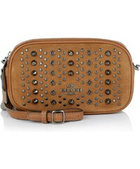 Coach Sacs de Soirée, All Studs Pochette Saddle en marron