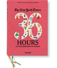 TASCHEN Buch The New York Times: 36 Hours, 125 Weekends in Europe