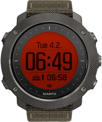 SUUNTO GPS Uhr / Multifunktionsuhr Traverse Alpha Foliage Green