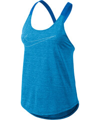 Nike Damen Trainingsshirt / Tank Top Elastika Keyhole Veneer