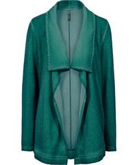 RAINBOW Sweat-Cardigan langarm in grün für Damen von bonprix