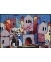 Tapis Little Town - designed by Rosina Wachtmeister