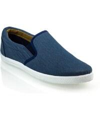 Modré stylové tenisky pánské HAVER MJ05-4