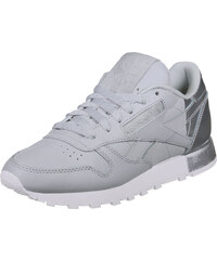 Reebok Cl Leather Mattte Shine W chaussures grey/white