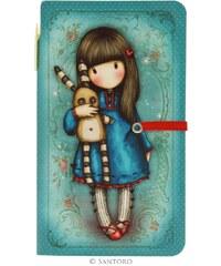 Santoro London - Zápisník s propiskou (malý) - Gorjuss - Hush Little Bunny