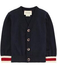 Gucci Cardigan mit V-Ausschnitt aus Wolle