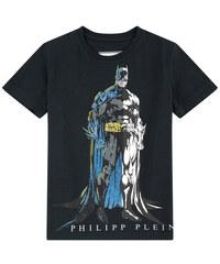 Philipp Plein Batman-T-Shirt mit Strass