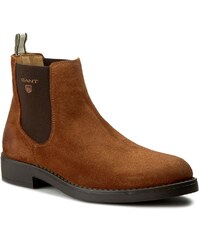 Kotníková obuv s elastickým prvkem GANT - Oscar 13653406 Cognac G45