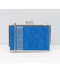 HUSH HUSH Modré hranaté box psaníčko
