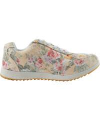 Lesara Sneaker mit Spitze & Blumen-Print - 36