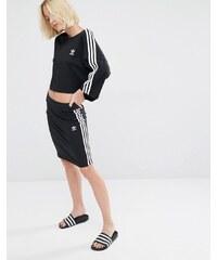 adidas Originals - Rock mit drei Streifen - Schwarz