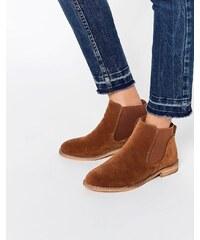 ASOS - ACUTE - Chelsea-Ankle-Boots - Orange