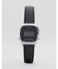 Casio - Montre avec bracelet en cuir - Noir LA670WEL-1BEF - Noir