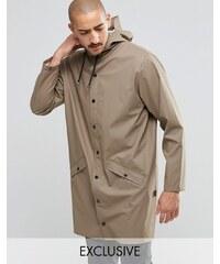 Rains - Longue veste imperméable - Beige