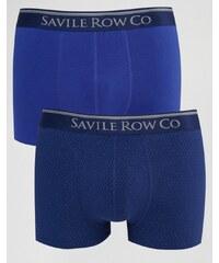 Saville Row Savile Row - Lot de 2 boxers - Bleu marine