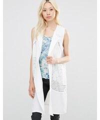 Y.A.S - Hally SL - Blazer drapé - Blanc