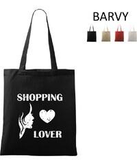 RAWE.CZ Shopping Lover - Taška přes rameno 42x38cm
