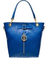 Glamorous by Glam Kožená kabelka se zipem - královsky modrá