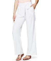 GUESS GUESS Roxsana Wide-Leg Pants - true white