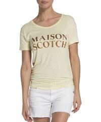 Scotch&Soda dámské triko Logo Vanilla