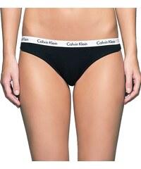 Calvin Klein černé a bílé kalhotky 3 PACK Rise Trunk