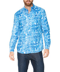 Desigual modrá pánská košile Cuadrelas