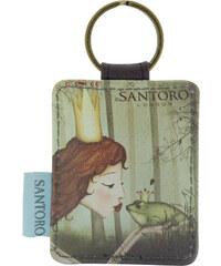 Santoro zelená klíčenka