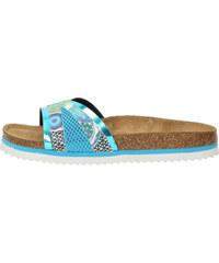 Desigual modré pantofle Bio 11 Nora