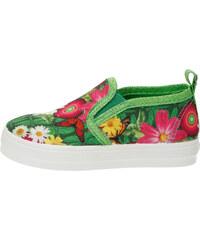 Desigual zelené dívčí boty Lona 2
