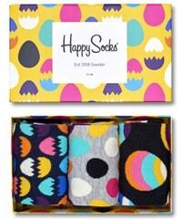 Happy Socks barevný dámský set ponožek Easter