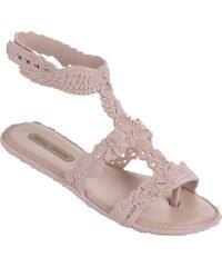 Melissa pudrové boty Campana Barroca Sandal Light Pink