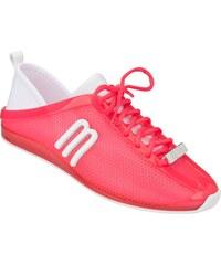 Melissa růžové boty Love System Now Pink/White