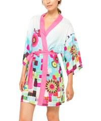 Desigual modré domácí kimono Mojito