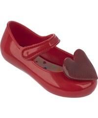 Mel by Melissa Mel červené dětské boty Cool Baby Red/Glitter