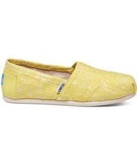 Toms citronové boty Citron Neon Tribal