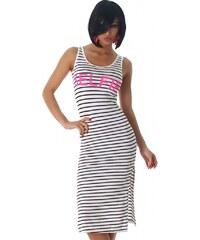 Voyelles Letní šaty s potiskem