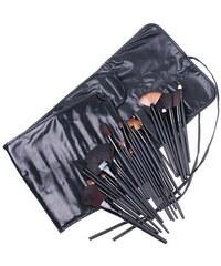 Shimia sada 32 kusů kosmetických štětců v černém pouzdře