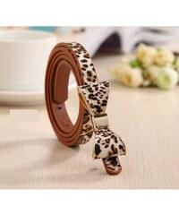 BF-Beauty Dámský pásek tenký leopard