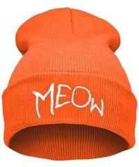 Ocuz Oranžová čepice Beanie MEOw